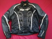 HEIN GERICKE PSX-TR GTX GORETEX LEATHER TEXTILE JACKET UK 44 45 Chest  EU 56 XL